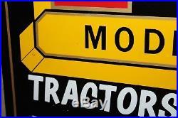 Rare Minneapolis-moline Modern Machinery Metal Sign Farm Barn Tractor Corn Deere