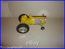Rare Vintage 1970s Minneapolis Moline Farm tractor Ertl MM toy 10.5 long Steel