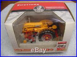 Sc 1/16 MM Minneapolis Moline U Tractor With Cq 2 Row Cultivator Se Firestone