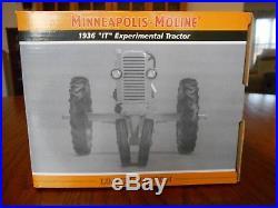Spec Cast 1/16 Minneapolis Moline 1936 IT Experimental Tractor, Resin, MIB