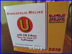 Speccast 2010 Summer Farm Toy Minneapolis-moline U & Cq 2-row Cultivator Nib
