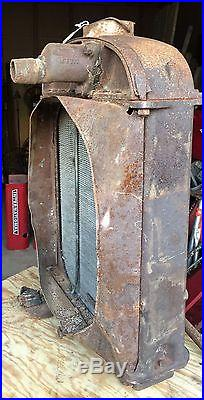Twin City Minneapolis Moline Minnie Mo Tractor Radiator Complete- Hard To Find