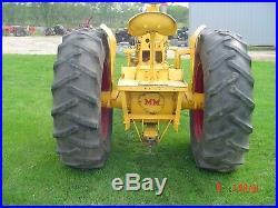 Tractor, UB pulling Tractor Minneapolis-Moline