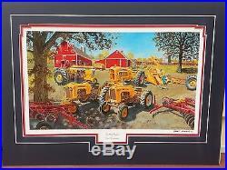 Tractor art Minneapolis Moline Russell Sonnenberg art print titled Star Family