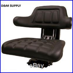 Tractor seat Ford Massey New Holland IH Allis suspesion seat black