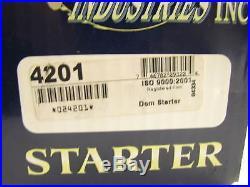 USA 4201 Starter Minneapolis Moline Allis Chalmers 180 Tractor, White Forklift