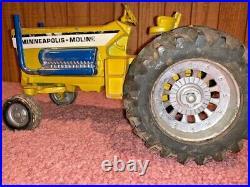 Vintage 1/16 Minneapolis Moline Mighty Minnie Super Rod Toy Tractor Ertl