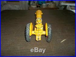 Vintage 1/16 Slik Minneapolis Moline UB Farm Toy Tractor Tin Rims