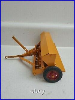 Vintage Ertl Eska Minneapolis Moline Custom Grain Drill