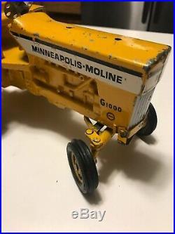 Vintage Ertl Metal Die Cast Minneapolis Moline G1000