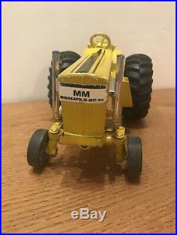 Vintage Ertl Yellow Minneapolis Moline Puller, Toy Pulling Tractor
