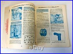 Vintage Minneapolis Moline Model G Diesel Tractor Operator's Manual
