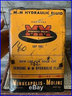 Vintage Minneapolis Moline Tractor Oil Can