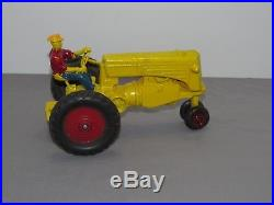 Vintage Minneapolis Moline model R 116th Scale SLIK VERY RARE Tractor Driver