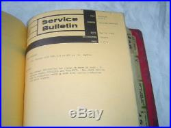 White Oliver Cockshutt Minneapolis Moline A4T1600 G950 tractor service bulletins